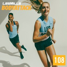 Spot sale 2020 Q1 LesMills Routines BODY ATTACK 108 DVD + CD + Notes