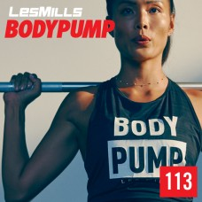 Spot sale 2020 Q1 LesMills Routines BODY PUMP 113 DVD + CD + waveform graph