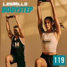 Spot sale 2020 Q1 LesMills Routines BODY STEP 119 DVD + CD + Notes