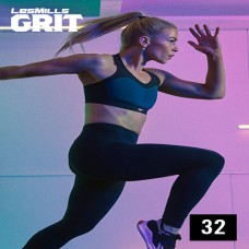 Spot sale 2020 Q1 LesMills Routines GRIT CARDIO 32 DVD+CD+Notes
