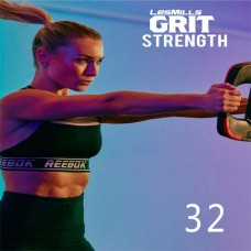 Spot sale 2020 Q1 LesMills Routines GRIT STRENGTH 32 DVD+CD+ Notes