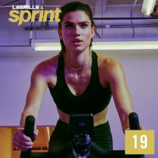 Spot sale 2020 Q1 LesMills Routines SPRINT 19 DVD+CD+Notes