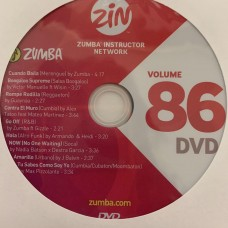 [Hot Sale]2020 New dance courses ZIN ZUMBA 86 HD DVD+CD