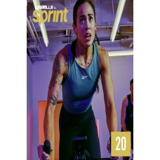 [Hot Sale]2020 Q2 LesMills Routines SPRINT 20 DVD+CD+Notes