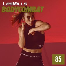 [Hot Sale]2020 Q4 LesMills Routines BODY COMBAT 85 DVD + CD + Notes