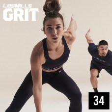 [Hot Sale]2020 Q4 LesMills Routines GRIT ATHLETIC 34 DVD+CD+Notes