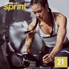 [Hot Sale]2020 Q4 LesMills Routines SPRINT 21 DVD+CD+Notes