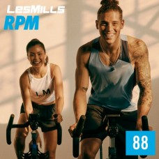 [Hot Sale]2020 Q4 Les Mills RPM 88 New Release 88 DVD, CD & Notes