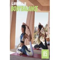 [Hot Sale]2019 Q2 LesMills Routines BODY BALANCE 85 DVD + CD + waveform graph