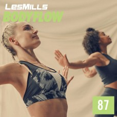 [Hot Sale]2019 Q4 LesMills Routines BODY BALANCE 87 DVD + CD + Notes