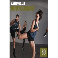 [Hot Sale]2019 Q2 LesMills Routines BODY COMBAT 80 DVD + CD + waveform graph