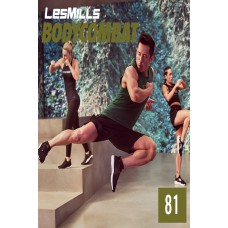 [Hot sale}2019 Q3 LesMills Routines BODY COMBAT 81 DVD + CD + waveform graph