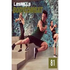 [Hot sale}2019 Q3 LesMills Routines BODY COMBAT 81 DVD + CD + waveform graph