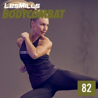 [Hot sale]LesMills Routines BODY COMBAT 82 DVD + CD + waveform graph
