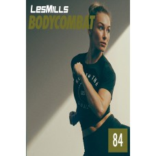 [Hot Sale]2020 Q2 LesMills Routines BODY COMBAT 84 DVD + CD + Notes
