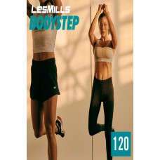 [Hot Sale]2020 Q2 LesMills Routines BODY STEP 120 DVD + CD + Notes