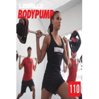 [Hot Sale]2019 Q2 LesMills Routines BODY PUMP 110 DVD + CD + waveform graph