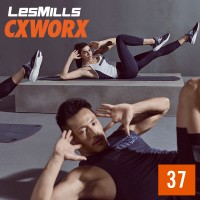 [Hot Sale] Les Mills CXWORX™ 37 New Release 37 DVD, CD & Notes