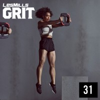 [Hot Sale] 2019 Q4 LesMills Routines GRIT STRENGTH 31 DVD+CD+ Notes