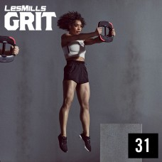 [Hot Sale] 2019 Q4 LesMills Routines GRIT ATHLETIC 31 DVD+CD+Notes