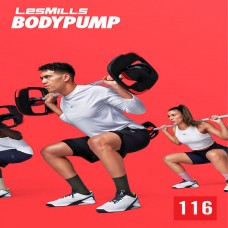 [Hot Sale]2021 Q1 LesMills Routines BODY PUMP 116 DVD + CD + waveform graph