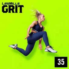 [Hot Sale]2021 Q1 LesMills Routines GRIT STRENGTH 35 DVD+CD+ Notes