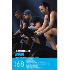 [Hot-Sale]Lesmills 2015 Q3 Routines RPM 68 HD DVD + CD + waveform graph