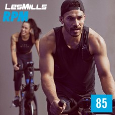 [Hot Sale] Les Mills RPM 85 New Release 85 DVD, CD & Notes