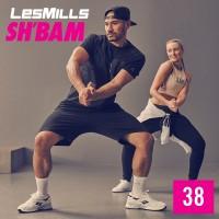 [Hot Sale]2019 Q4 LesMills Routines SH BAM 38 DVD + CD + Notes