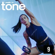 Spot sale LesMills Routines TONE 09 DVD+CD +Notes