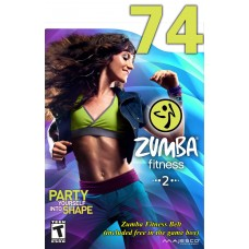 [Hot Sale]2018 New dance courses ZIN ZUMBA 74 HD DVD+CD