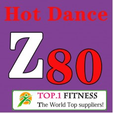 [Hot Sale]2018 New dance courses ZIN ZUMBA 80 HD DVD+CD