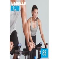 [Hot Sale]2019 Q2 LesMills Routines RPM 83 DVD + CD + waveform graph