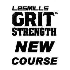 2019 Q3 LesMills Routines GRIT STRENGTH 30 DVD+CD+ Notes