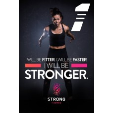 [Hot Sale] 2018 New Course Strong By Zumba Vol.01 HD DVD+CD
